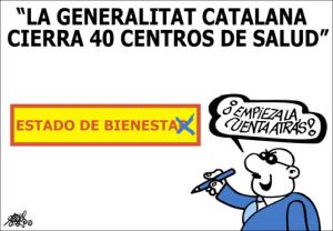 Le Generalitat catalana cierra 40 centros de saludForges