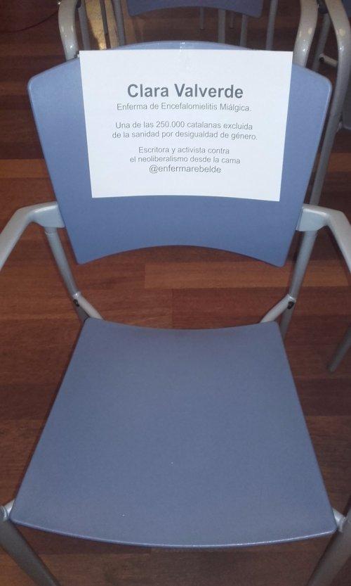 silla salut drets acció